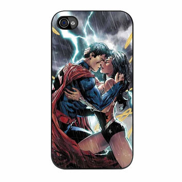 Superman And Wonder Woman iPhone 4s Case