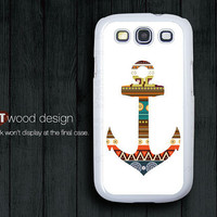 Samsung phone case Galaxy SIII case Case Samsung Case Galaxy S3 i9300  anchor graphic atwoodting design