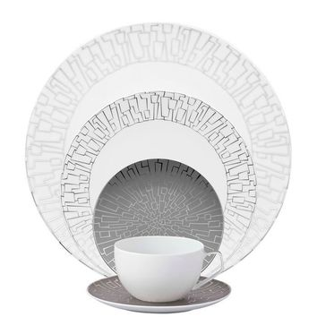 TAC 02 Skin Platinum 5 Piece Placesetting