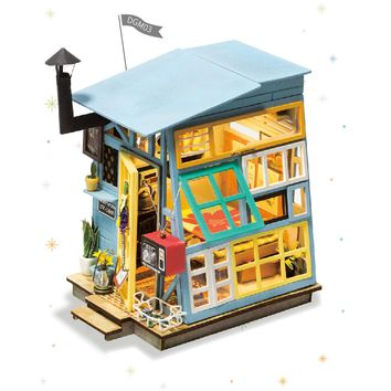 Robotime Dollhouse diy kit Wooden Hut DGM03