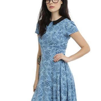 Cartoon Network Dexter's Laboratory Peter Pan Collar Dress