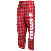 Oklahoma Sooners Acclaim Flannel Pants – Crimson