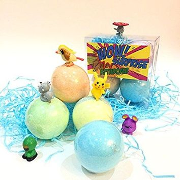 Bath Bombs with Surprise Bath Toys Inside
