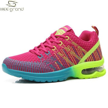 Women's Sneakers Breathable Cushioning Women Running Shoes