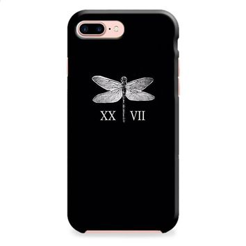 Lauren Jauregui Dragonfly Tattoos iPhone 8 | iPhone 8 Plus Case