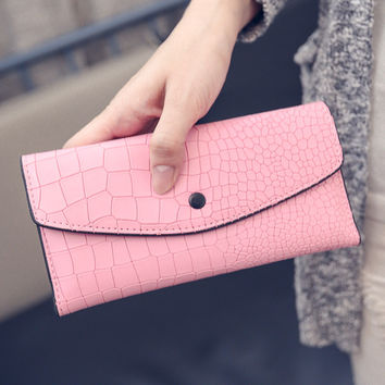Korean Wallet Winter Bags Stylish Purse [6048289665]