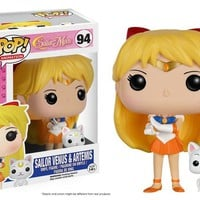 "Funko Pop Sailor Venus and Artemis Anime 3.75"" Vinyl Figure Sailor Moon"