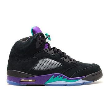 PEAPO2N Air Jordan 5 Retro 'Black Grape'