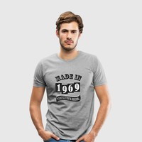 MADE IN 1969 SPECIAL T-SHIRT by IM DESIGN CREATIVE | Spreadshirt
