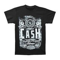 Johnny Cash Men's  Live at Folsom Prison T-shirt Black