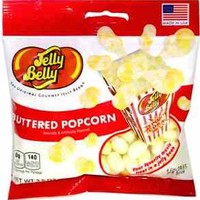 BUTTERED POPCORN - Jelly Belly Candy Jelly Beans - 3.5 oz BAG - 3 PACK