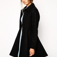 ASOS Dolly Skater Coat at asos.com