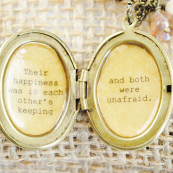 Anne of Green Gables  Women's Locket  Their by busybeezchickadeez