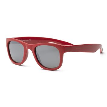 Real Kids Shades - Surf Style Unbreakable 100% UVA & UVB Protection Sunglasses - Red (Ages 4+ & Ages 7+)