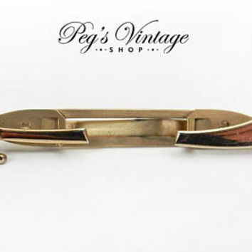 Vintage  Anson Tie Clip, Gold Tone Sword Tie Clip / Clasp, Medieval, Businessman, Wedding Men's Fashion Accessory