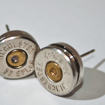 Gunpowder and Glitz Bullet Studs- Nickel