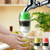 Household Coconut Carbon Cartridge Faucet Tap Water Clean Purifier Filter (Random Color) [8270575617]