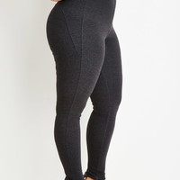 Plus Size Classic High-Waisted Leggings
