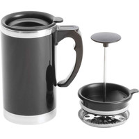 Wyndham House™ 21oz Stainless Steel Lined, Double-Wall Travel French Press Coffee/Tea Mug