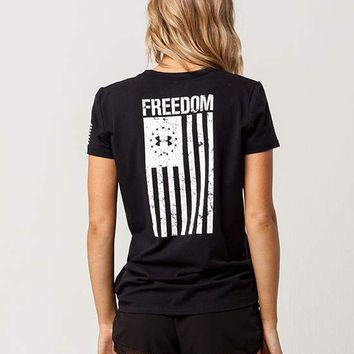 UNDER ARMOUR Freedom Womens Tee | Graphic Tees