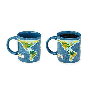 Climate Change Morph Mug | climate change mug, sea level rise