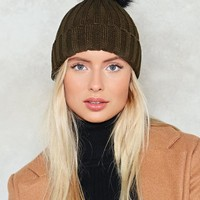Hot Headed Pom Pom Beanie