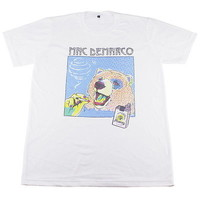 MAC DEMARCO Bear Smoking Rock Band Party Music #GV602 Men White T-Shirt S M L XL