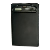 Officemate Clipboard with Calculator, Black (83336)