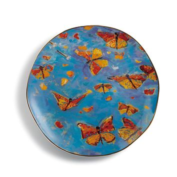 Monarch Migration Round Platter