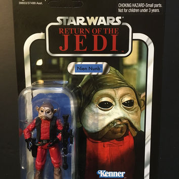 Star Wars The Vintage Collection Nien Numb Vc106 Unpunched