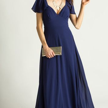 Gia Navy Maxi Dress