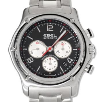 Ebel 1911 XXL Mens Chronograph Automatic Watch 9137260-25567