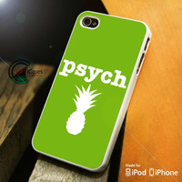 Psych Logo iPhone 4 5 5c 6 Plus Case, Samsung Galaxy S3 S4 S5 Note 3 4 Case, iPod 4 5 Case, HtC One M7 M8 and Nexus Case