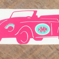 Volkswagen  decal, car accessories, car decal, volkswagen decal, volkswagen sticker, monogram decal, vinyl decal, window sticker, vw sticker