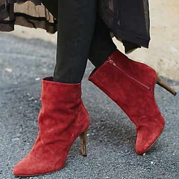 Free People Womens Fairfax Heel Boot
