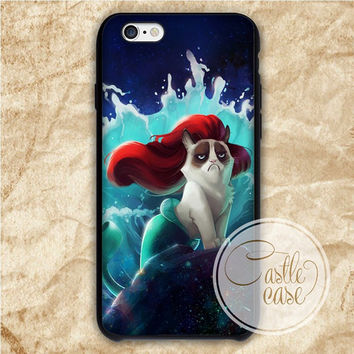 Parody Grumpy Cat Funny Grumpy Cat iPhone 4/4S, 5/5S, 5C Series Hard Plastic Case