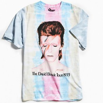 David Bowie Tie-Dye Tee | Urban Outfitters