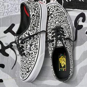 VANS x A Tribe Called Quest Fashion Women Men Casual Flat Sport 6adb17c3d9