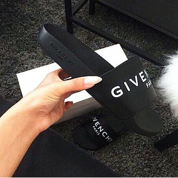 Givenchy Women Fashion Comfortable  Sandal Slipper Shoes