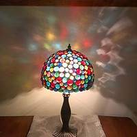 Stained Glass Table Lamp   -  Home Decor Lighting
