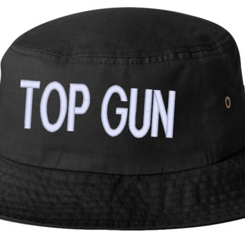 top gun bucket hat