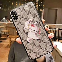 GUCCI Fashion New Pig More Letter Women Men Protective Case Phone Case