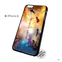 Disney New Peter Pan Quote Phone Case For Apple,  iphone 4, 4S, 5, 5S, 5C, 6, 6 +, iPod, 4 / 5, iPad 3 / 4 / 5, Samsung, Galaxy, S3, S4, S5, S6, Note, HTC, HTC One, HTC One X, BlackBerry, Z10