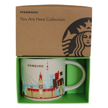 Starbucks You Are Here Collection Germany Hamburg Ceramic Coffee Mug New Box