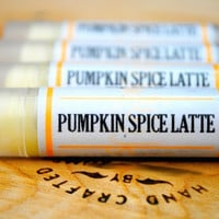 Pumpkin Spice Latte Lip Balm – Caffeinated Lip Balm