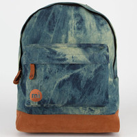 Mi-Pac Denim Dye Backpack Indigo One Size For Men 22171121201