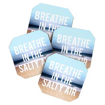 Leah Flores Breathe Coaster Set