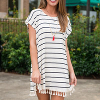 Crafty Combo Dress, Ivory