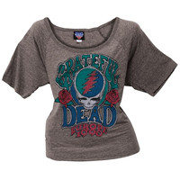 Grateful Dead - Europe 90 Juniors Slouch T-Shirt