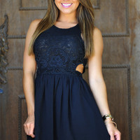 Couldn't Be More Perfect Dress: Black | Hope's